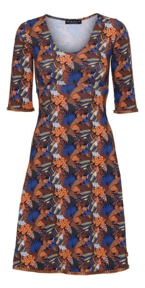 Stella Dress Blue jungle