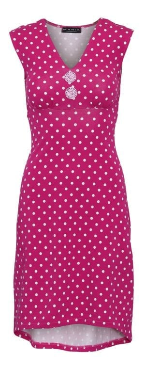 Pin-Up Dress Pink dot