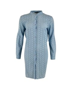 Embroidery Dress light Blue