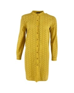 Embroidery Dress light yellow