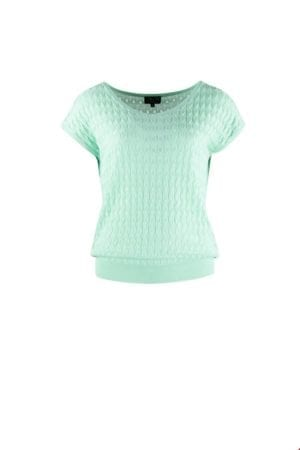 Top v-neck mint