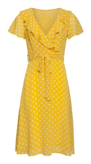 Dress Yellow polka Dots