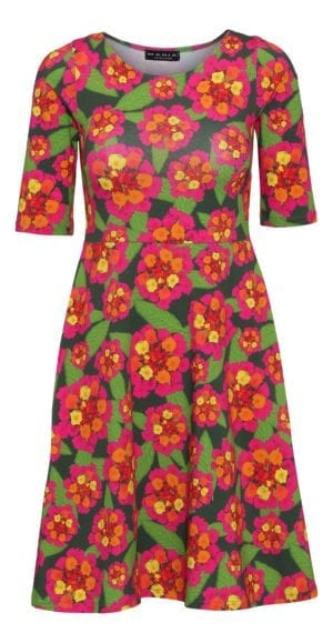 Betty Dress summer flowers
