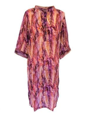 Jennifer dress silk lilac Batik