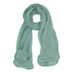 Tørklæde wrinkle Mint