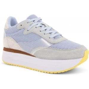 Linea Sneakers plateau Ice blue
