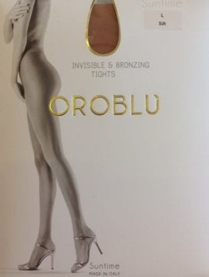 Oroblu Suntime Invisible bronzing tights