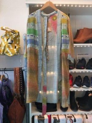 Vintage sarisilk short kimono summer mix S/M