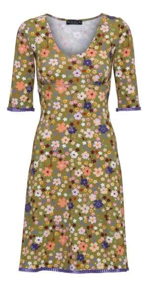 Stella Dress petit fleur olive