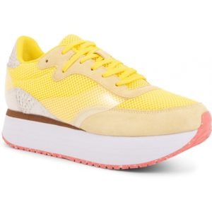 Linea Sneakers plateau Blazing Yellow