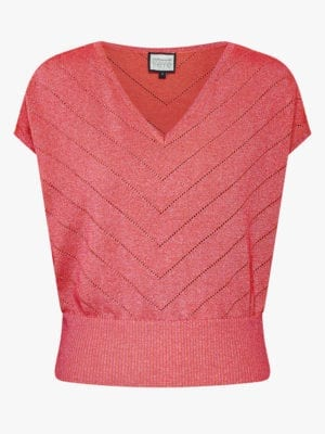 Sunday girl Knit top-peach