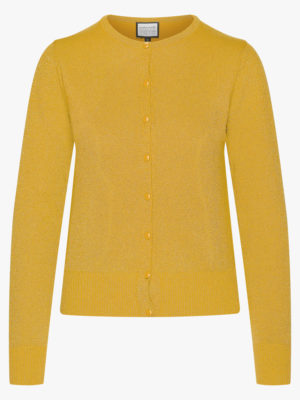 Cardigan-Some Cosiness Yellow glitter
