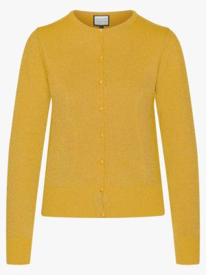 Cardigan-Some Cosiness Yellow glitter