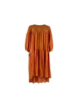 LEX-oversize dress orange