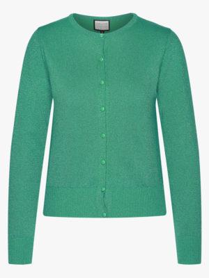 Cardigan-Some Cosiness Green glitter