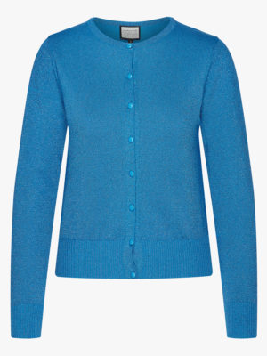 Cardigan-Some Cosiness Blue glitter