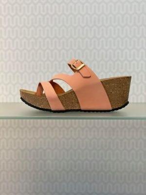 Ella sandal cantaloup nubuck