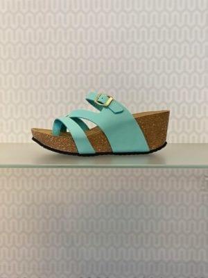 Ella sandal mint nubuck