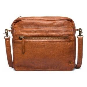 Crossover bag vintage cognac 13928
