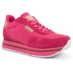 Nora ll Sneakers Plateau Fuchsia