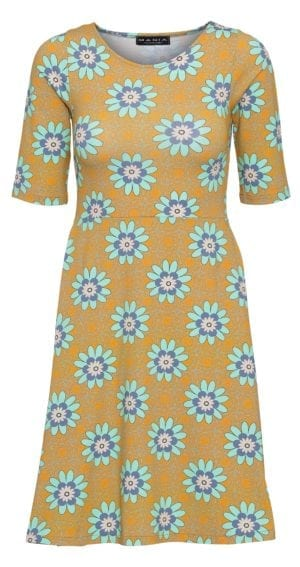 Betty Dress soft yellow