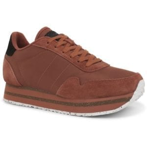 Nora ll Sneakers Plateau Rust