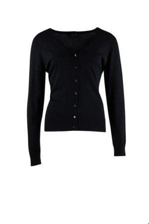 Bamboo Cardigan Black
