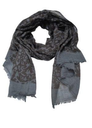 Tørklæde fine wool Rococo Sky