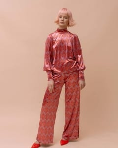 Molly Velour Trousers
