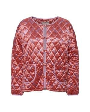 Molly Short Velour Quilt Jacket