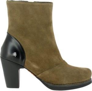 Gran Via boot lux suede Kaki 1148