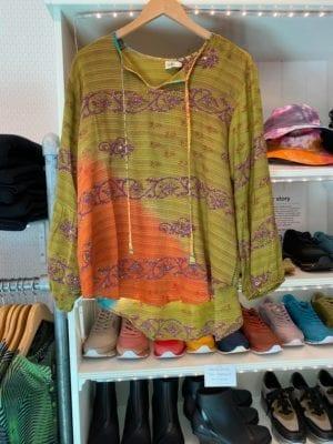 Jaipur shirt sarisilk M/L Ecru
