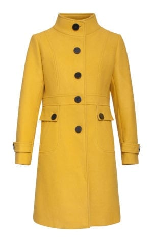 Coat Audrey Yellow