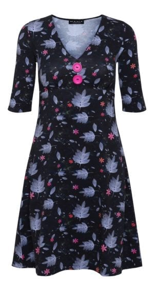 Bibbi Dress Navy flower