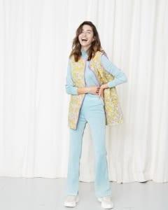 Nellie Floral Quilt Vest