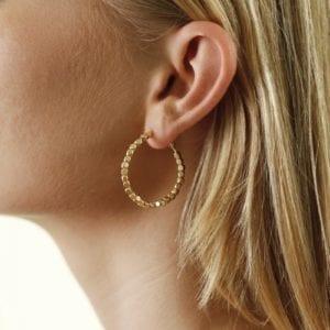 Alina hoops gold