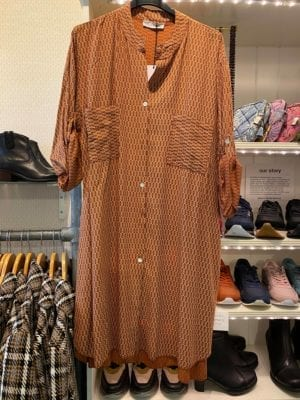 Tina Shirt dress rust, onesize