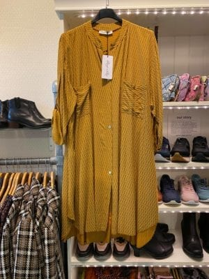 Tina Shirt dress mustard, onesize