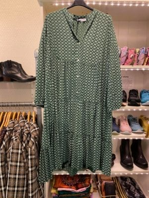 Susanne Maxidress green, onesize