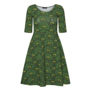 Betty Dress Green Fields