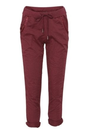 Relax pants Army Bordeaux