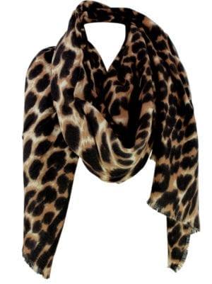 Tørklæde Soft leopard