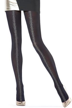 Oroblu eloise tights Bl/silver