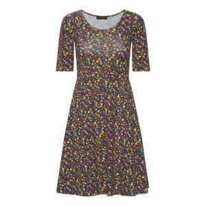Betty Dress Multi dot