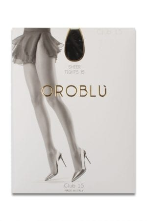 Oroblu Club 15 sheer Black
