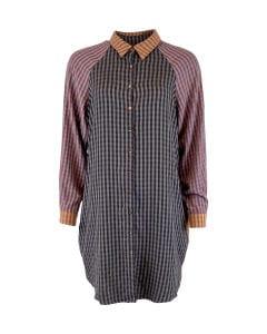 Janna oversize shirt patchwork