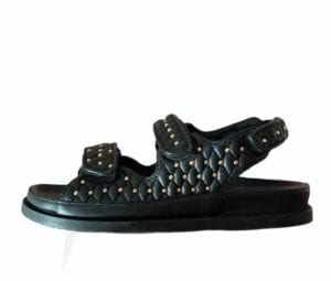 Sandal Luxury Black Studs (PREORDER)
