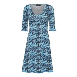 Stella Dress Pretty blue flowers