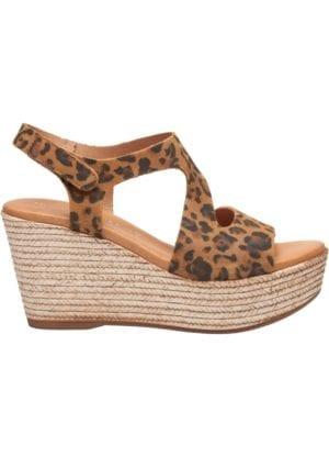 """Masha sandal wedges Leopard """"PREORDER"""""""