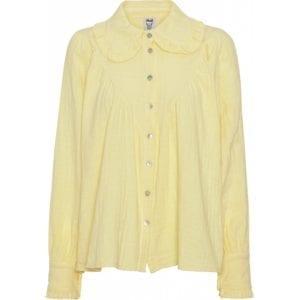 Blouse Romantic Pastel yellow